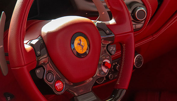 Ferrari SP 38 interior