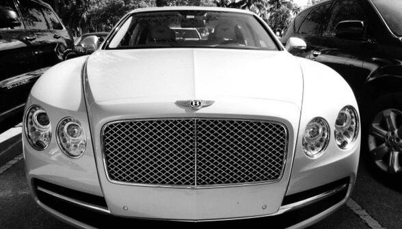 road insured Bentley