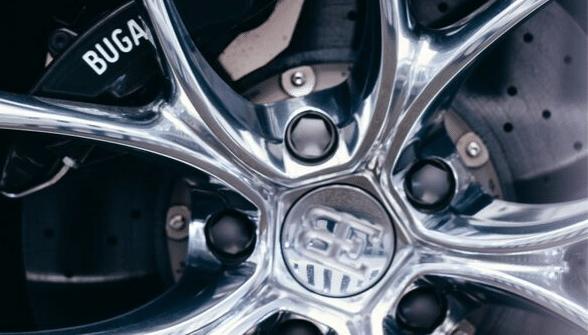 Bugatti alloy wheels