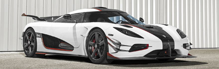 Koenigsegg One performance car insurance