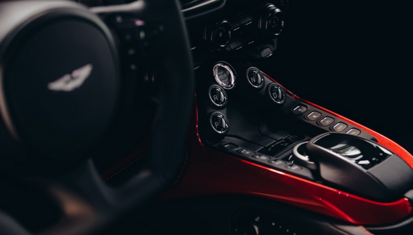 Aston Martin car interior - specialist insurance