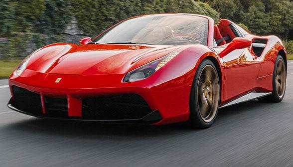 Ferrari SP 38 interior