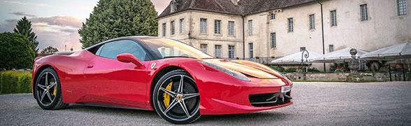 Ferrari Spyder insurance